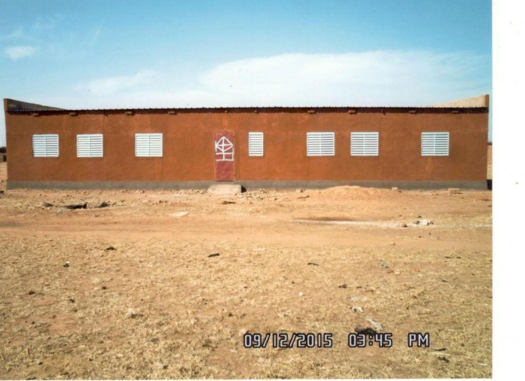 Schuleinweihung in Burkina Faso im Februar - dem Terror nicht weichen