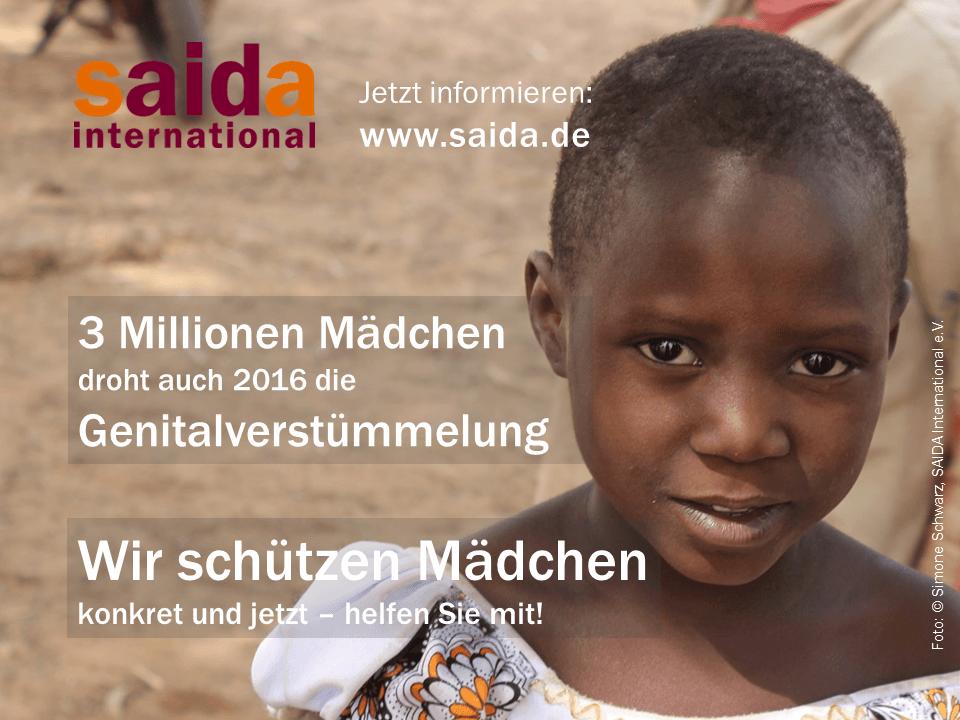 Internationaler Tag gegen Genitalverstümmelung 2016