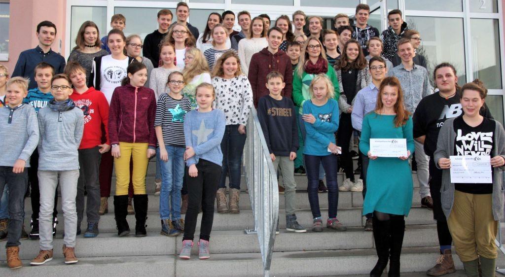 Nieskyer Schüler erlaufen 4000 Euro für SAIDA
