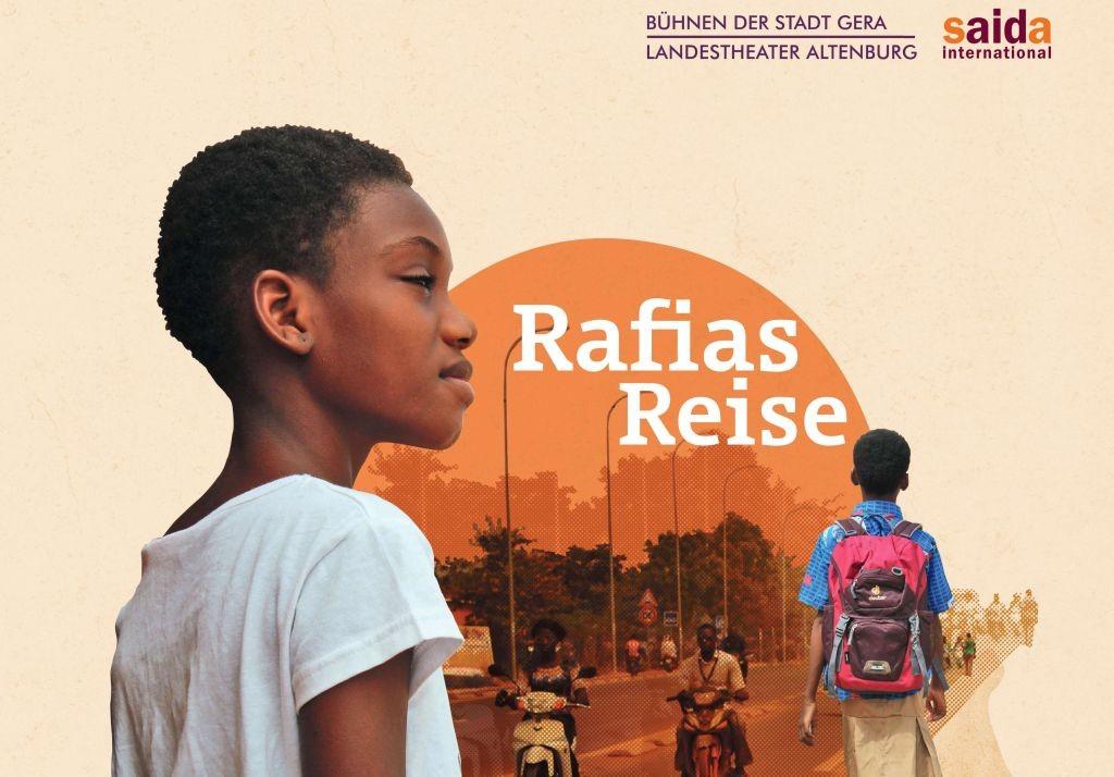 Rafias Reise gestartet - Jugendtheater über Mädchen auf der Flucht