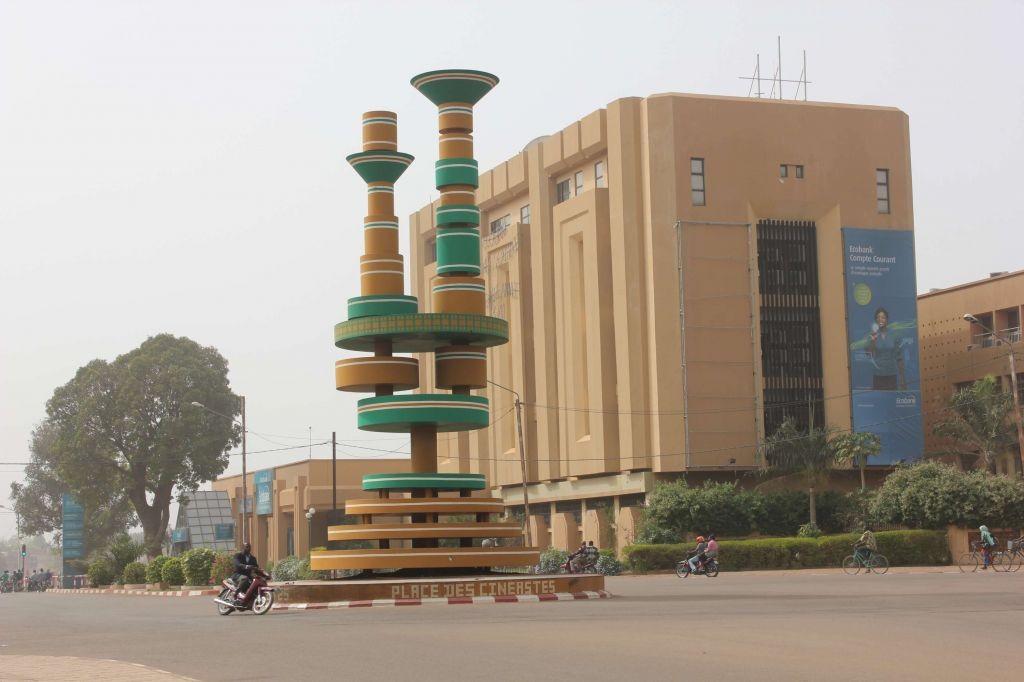 Place des Cinéastes, Ouagadougou, 2011
