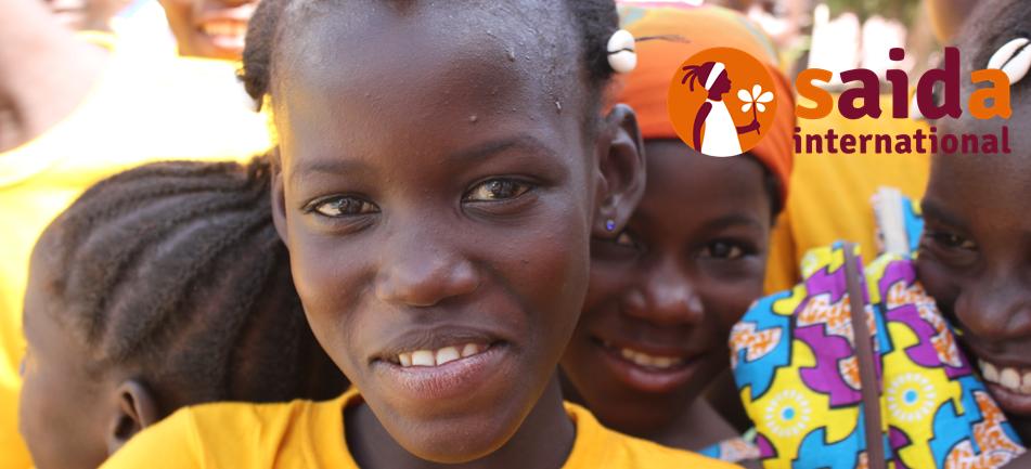 SAIDA-Patenmädchen in Burkina Faso