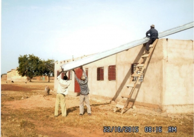 School, solar and sanitation